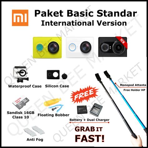 jual xiaomi yi international version xiaomi laz