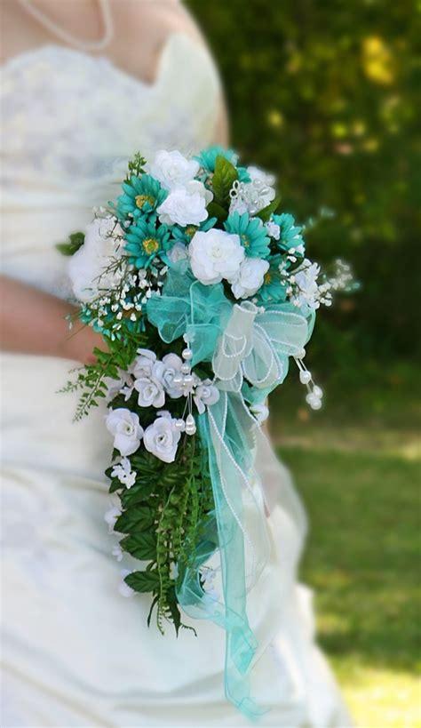 ideas  teal entrancing flower bouquets