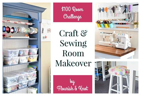 Craft & Sewing Space Reveal!