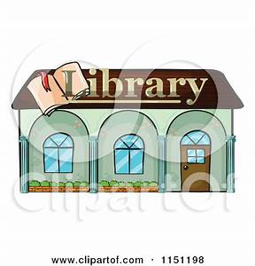 Library building clipart - Clipground