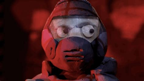 claymation doom    gruesome   real