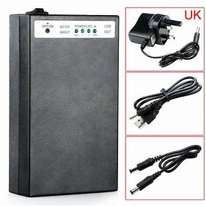 Dc 5v  12v 2 In 1 Usb Rechargeable 20000mah Li