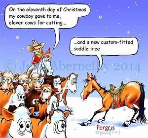 Fergus' Chr... Funny Christmas Horse Quotes