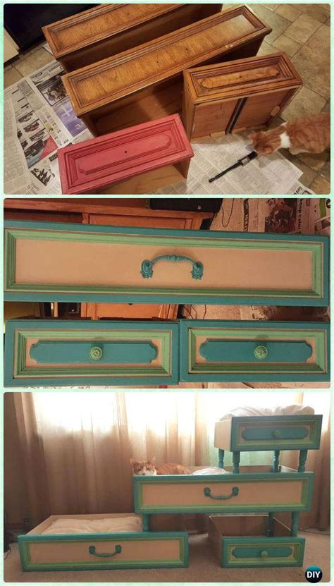 recycle  drawer furniture ideas projects  instructions