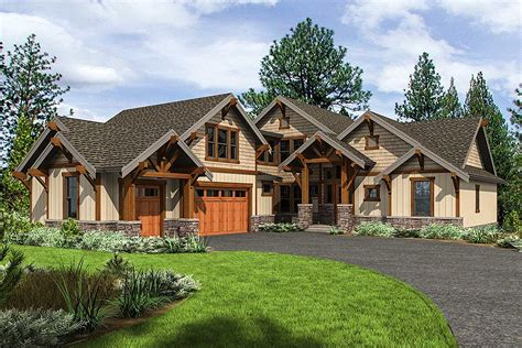 Home Plans Craftsman by Mountain Craftsman Home Plan With 2 Upstairs Bedrooms
