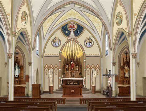 Catholic Church Renovations, Remodeling, Restoration