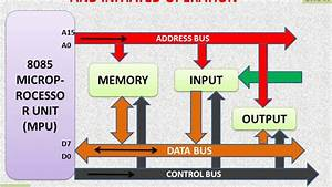 8085 Microprocessor  U2013 Bus Organization And Initiated