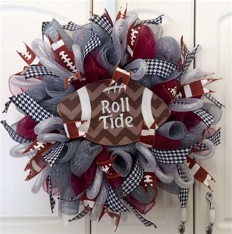 Football Wreath Decorations - order this wreath today by clicking on the following link