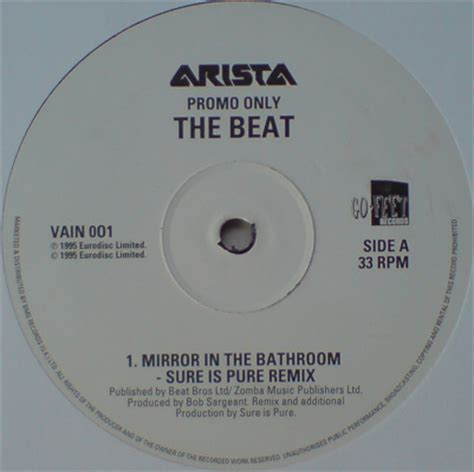 The Beat Mirror In The Bathroom by Mirror In The Bathroom Remixes