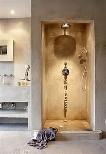 Beton Ciré Sol Salle De Bain : comment am nager une petite salle de bain ~ Preciouscoupons.com Idées de Décoration