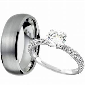 couples wedding ring sets buyretinaus With couples wedding ring sets