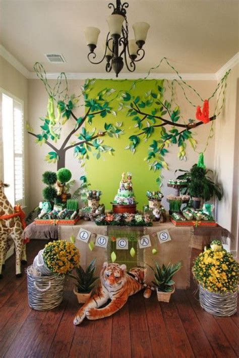 diy jungle theme decorations Decoratingspecial com
