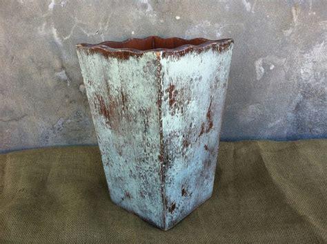 shabby chic wastebasket trash can wooden trash can shabby chic decor farmhouse