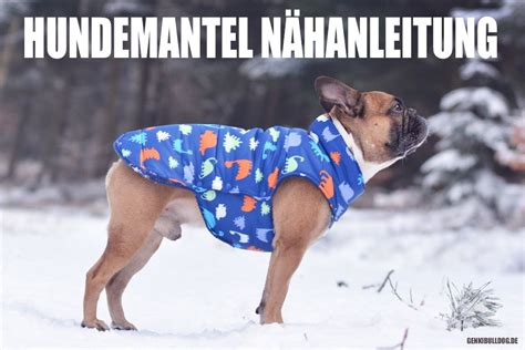 selbstgenaechte hundemaentel katy hunde mantel