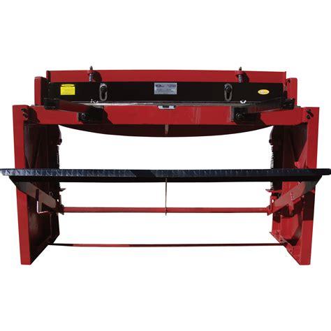 northern industrial sheet metal shear 52in length metal shears northern tool equipment