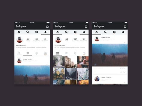 Instagram Mockup 34 Free Instagram Mockup Layouts For 2017 Psd Ui