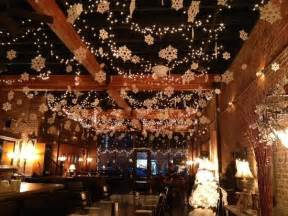 christmas decorations on the ceiling picture of zinful panini grill wine bar kennewick