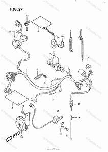 Suzuki Motorcycle 1998 Oem Parts Diagram For Wiring