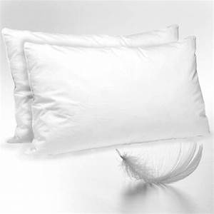 Luxury duck feather down pillows soft comfortable high for Best quality down pillows