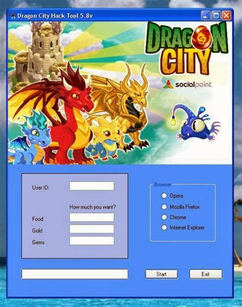 Dragon City Hack tool v5 8 ~ Full Download Box