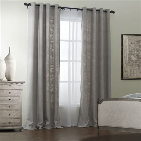 grey colored excellent quality overstock curtains