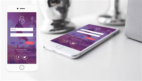 3 mobile login new login mobile ui vol 1
