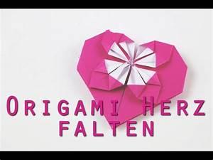 Herz Falten Origami : origami herz falten anleitung ~ Eleganceandgraceweddings.com Haus und Dekorationen