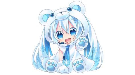 Wallpaper Anime Chibi - chibi hatsune miku fondo de pantalla hd fondo de