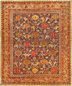 Antique turkish oushak rug antique turkish rug antique for Turkish rugs