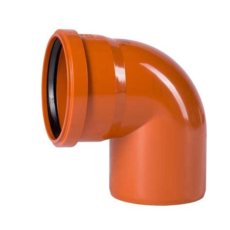 kg rohr dn 75 kg bogen dn200 87 grad rohr abwasserrohr kanalrohr orange