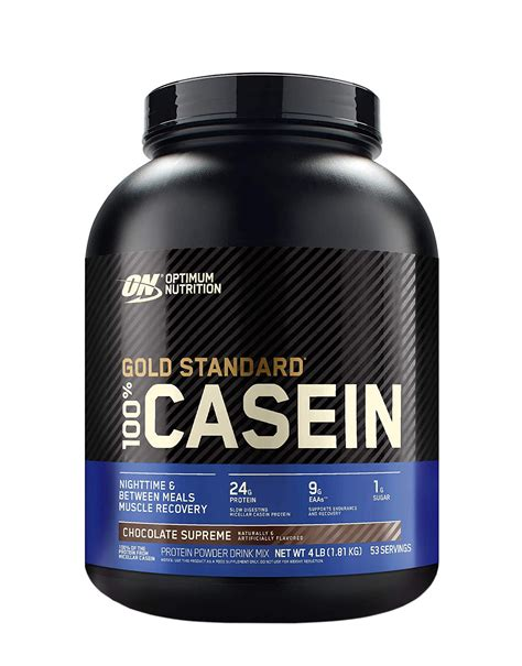 100% Casein Gold Standard by OPTIMUM NUTRITION (1820 grams)