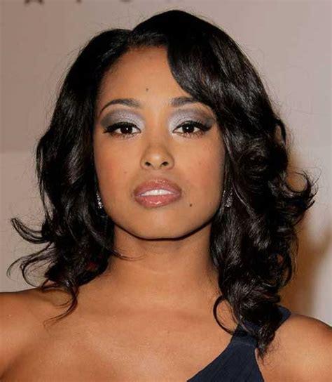 medium length hairstyles  black women hair  hairstyles