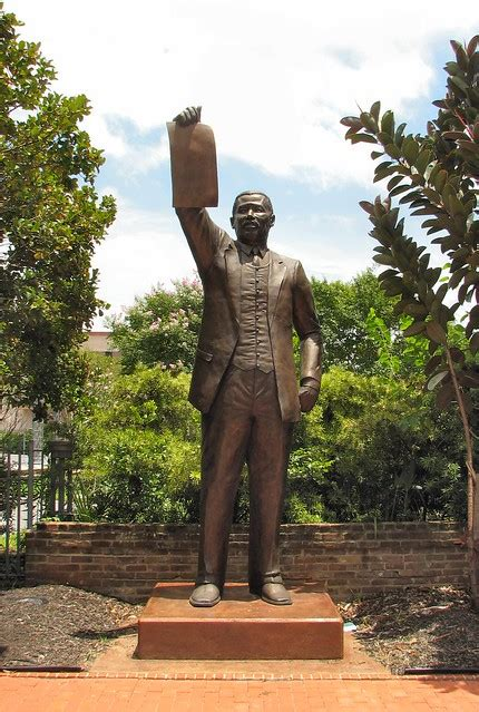juneteenth statue  state rep al edwards flickr