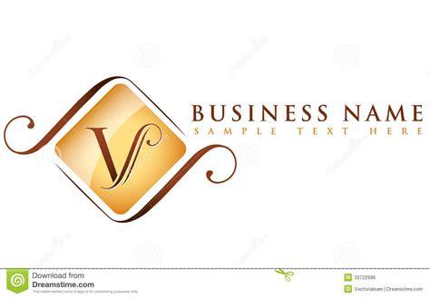 V_company Name Royalty Free Stock Image