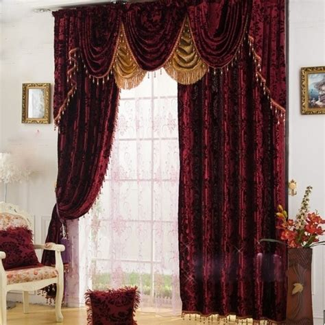 Burgundy Velvet Blackout Curtains by Burgundy Velvet Curtains Html Myideasbedroom