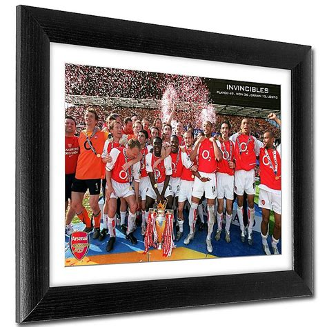 Arsenal Invincibles Print | Official Online Store