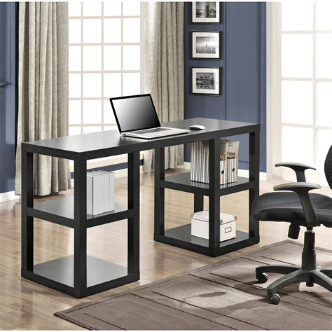 double desk home office computer desk home office double pedestal parsons desk