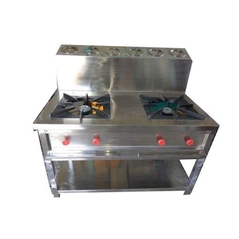 burner gn pain gas range indian stainless steel
