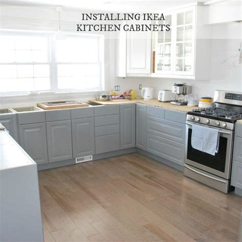 installing ikea sektion cabinets installing ikea kitchen cabinetry our experience the