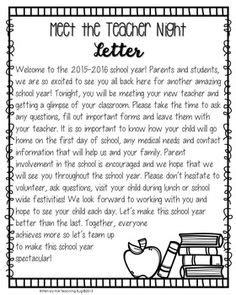 meet the teacher letter editable welcome letter freebie grades 1 2 ideas resources welcome letters