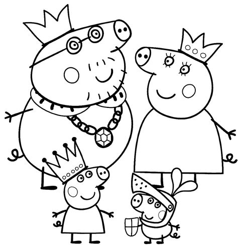 Peppa Pig Coloring Pages To Print Car Interior Design