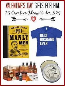 Valentine's Gift Ideas for Him - 25 Creative Ideas Under $25
