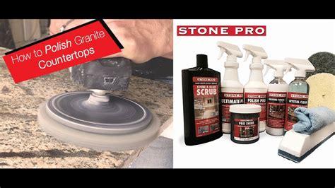 Polishing Countertops - granite countertop polishing bstcountertops