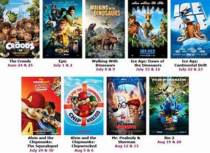 Summer Movies Film Series Fun Cinemas Tie