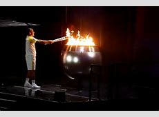 Rio 2016 Who lit the Olympic torch?