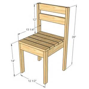 Children's Chair Plans Free
