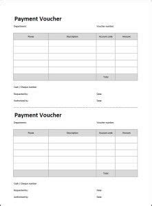 payment voucher template fire dept voucher template