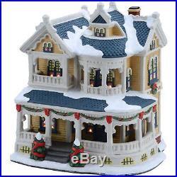 christmas village victorian house holiday otdoor indoor