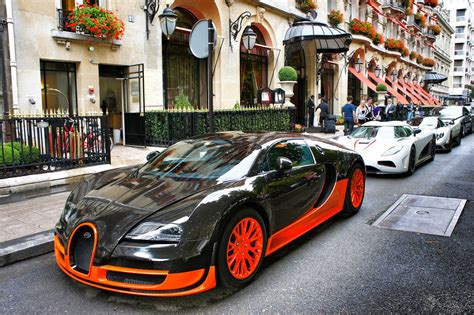 Bugatti On The Streets by Bugatti In The Streets Luxury Car