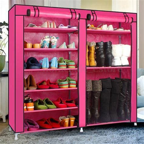 Closet Shoe Racks by Home Shoe Rack Shelf Storage Closet Organizer Cabinet